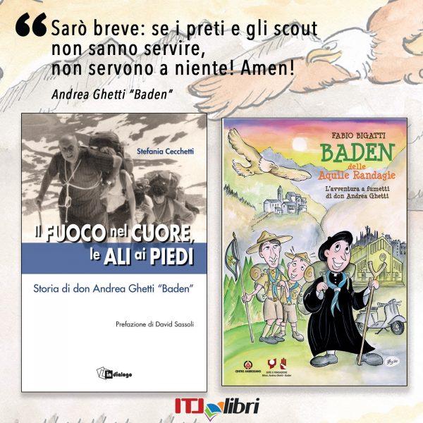 """Don Andrea Ghetti, detto """"Baden"""", una storia """"speciale"""""""