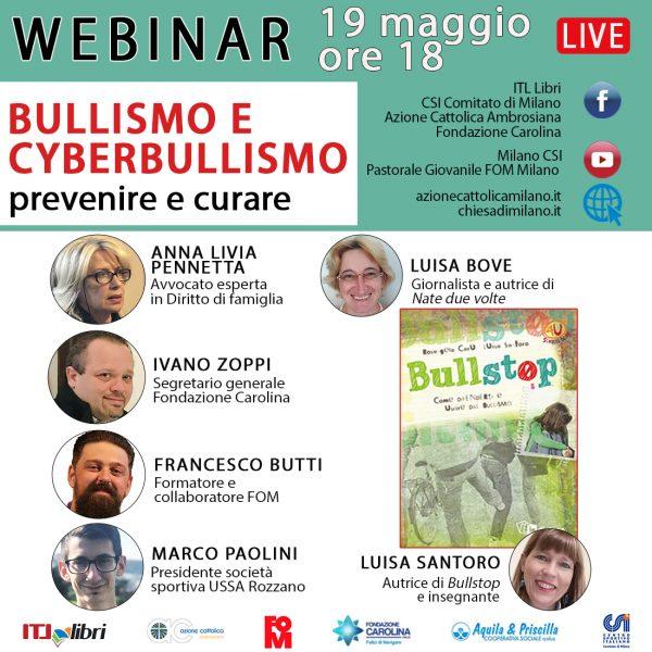 Bullismo e cyberbullismo. Prevenire e curare